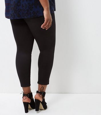 Curves Black Jeggings New Look
