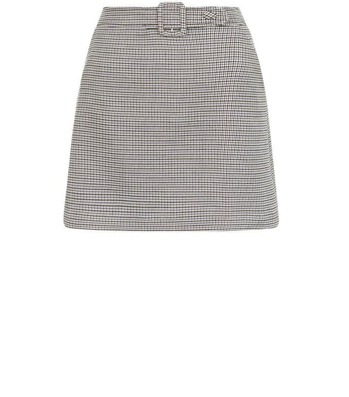 0d1edba0c Brown Check Print Belted Mini Skirt | New Look
