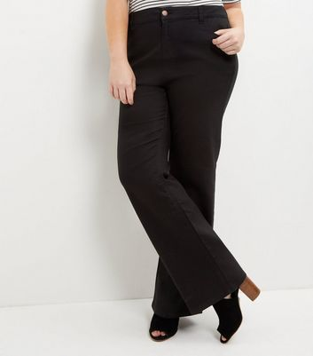 New Look Curves Womens Bootcut Jeans