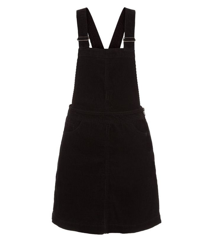 great discount sale differently elegant and graceful Black Cord Pinafore Dress Add to Saved Items Remove from Saved Items