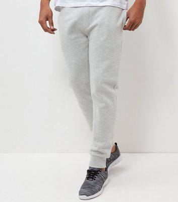 Grey Basic Joggers New Look