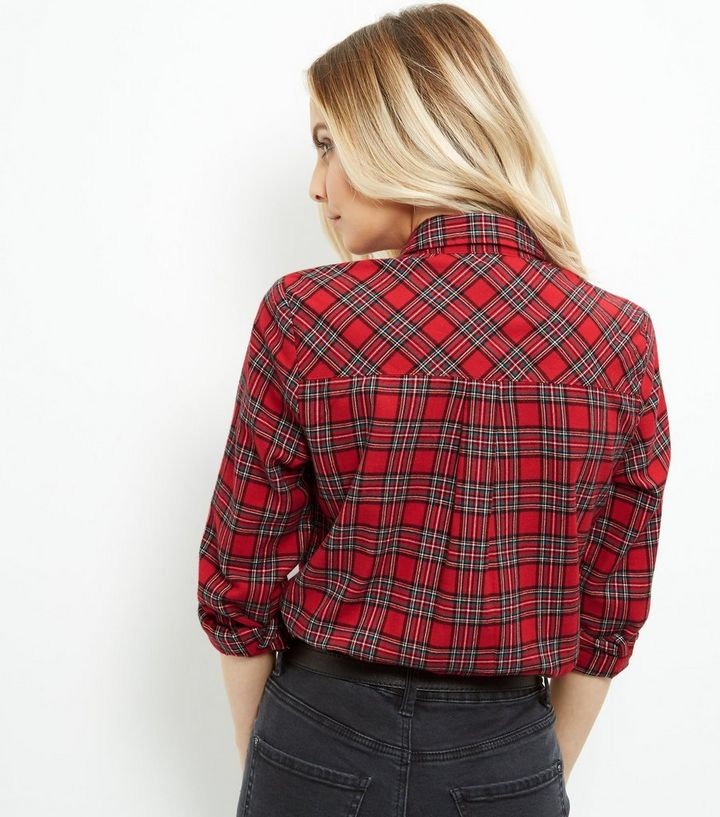 8a47be4cde42fd ... Women's Tops · Petite Red Tartan Check Shirt. ×. ×. ×. Shop the look