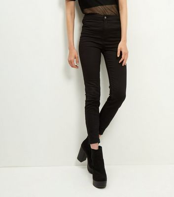 Black High Waist Super Skinny Jeans Add to Saved Items Remove from Saved Items