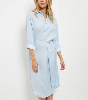 AX Paris Womens Long Sleeved Midi Shirt Dress