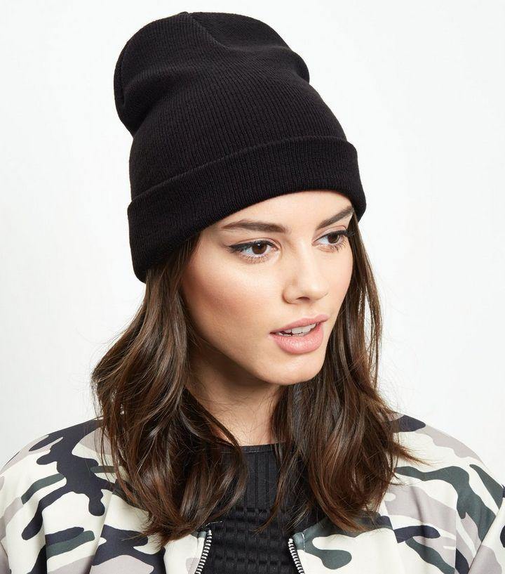 Black Beanie Hat  9ad32af4b4