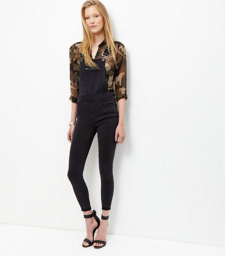 coût modéré caractéristiques exceptionnelles couleur attrayante Salopette skinny en jean noir Ajouter à la Wishlist Supprimer de la Wishlist