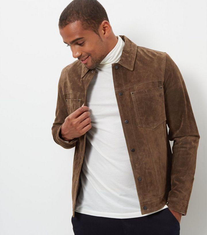 a4ddfcadd Dark Brown Suede Jacket Add to Saved Items Remove from Saved Items