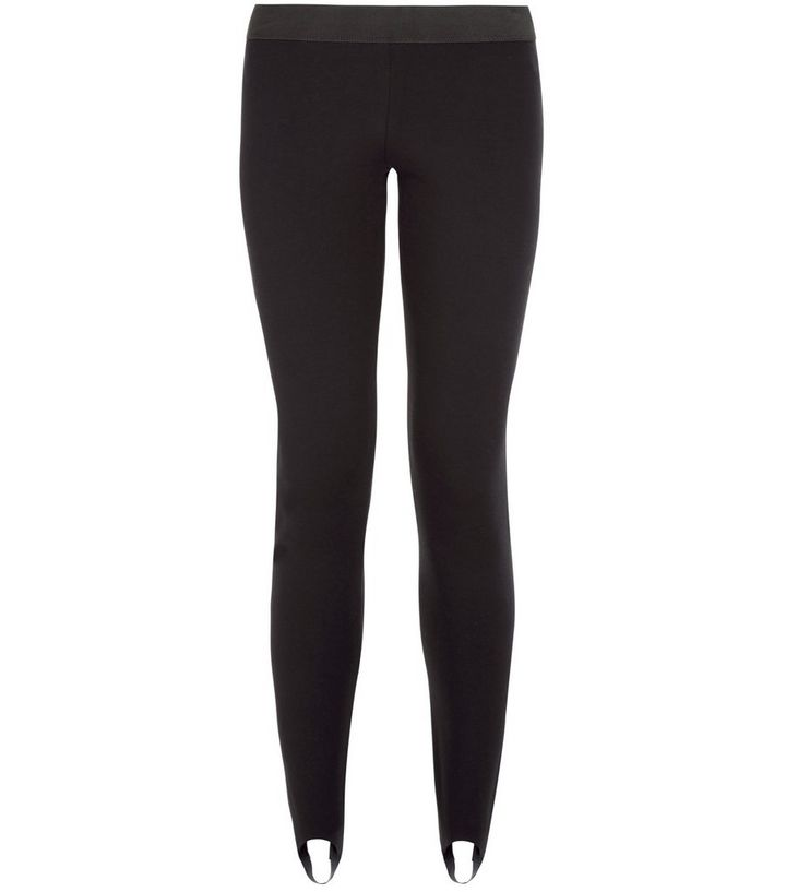 6eea42afd6b2a5 Black Stirrup Leggings | New Look