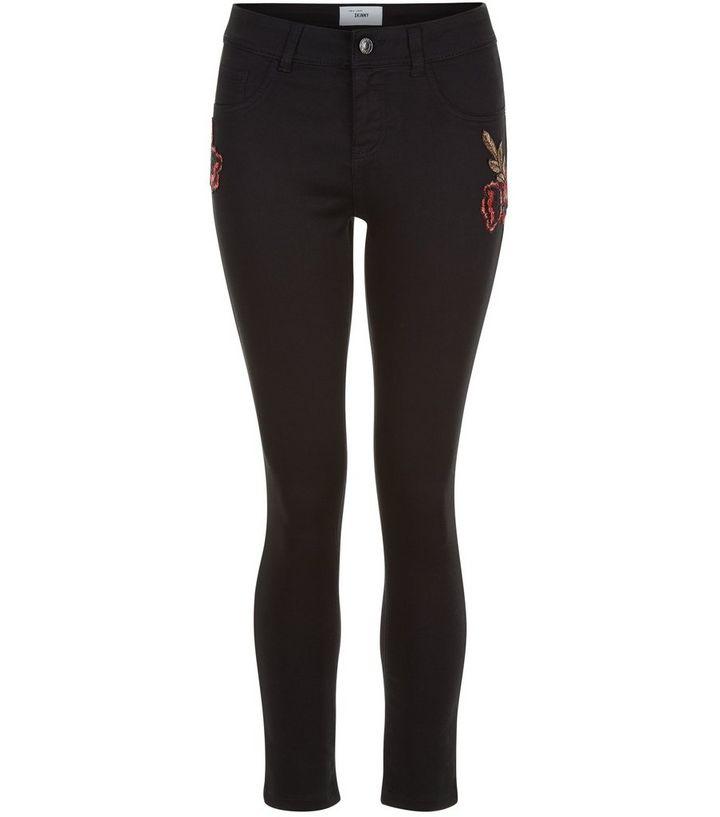 professionelles Design suche nach original spottbillig Teenager – Schwarze Skinny-Jeans mit Rosenmuster Für später speichern Von  gespeicherten Artikeln entfernen