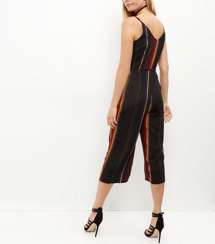 e7e81611633 ... Cameo Rose Black Stripe Culotte Jumpsuit. ×. ×. ×. Shop the look