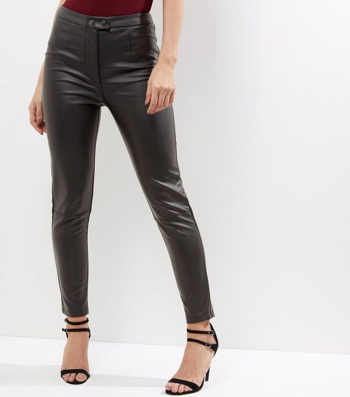 classic chic latest style sells Black Leather-Look Trousers Add to Saved Items Remove from Saved Items