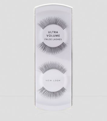 Black Ultra Volume False Lashes New Look