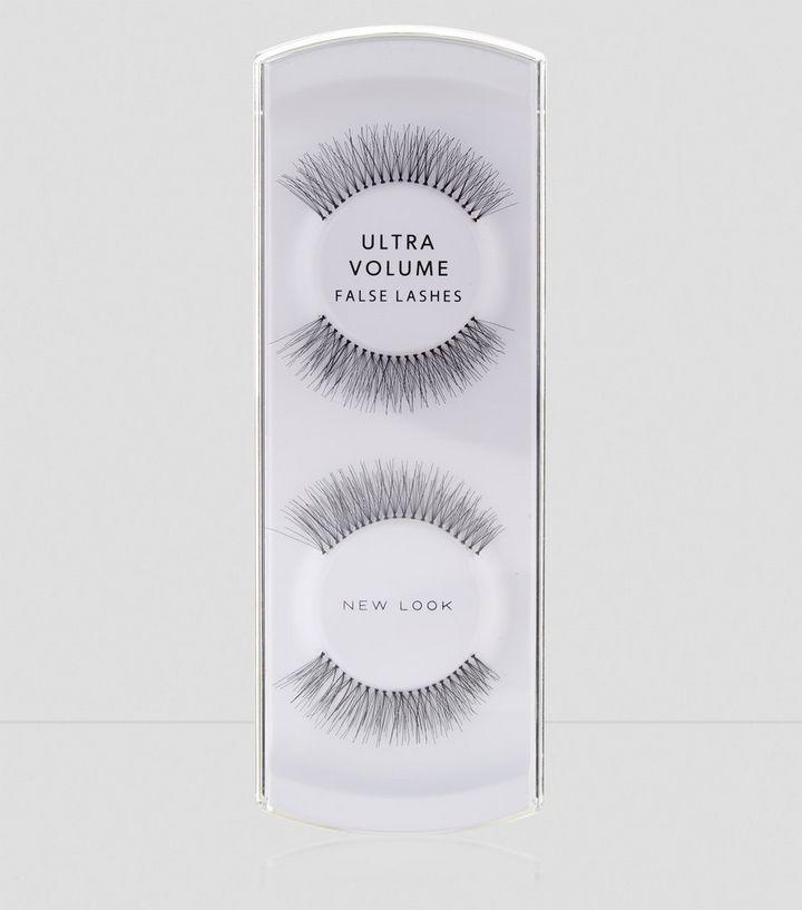 e9d37044fa3 Black Ultra Volume False Lashes   New Look
