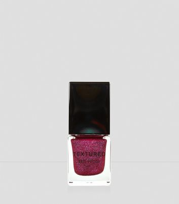 Heartbeat Pink Textured Nail Polish New Look
