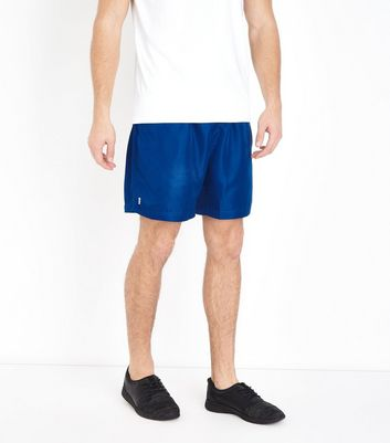 Blue Running Shorts New Look