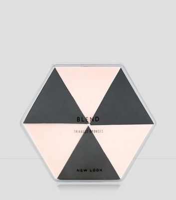 Triangle Beauty Sponge Set New Look