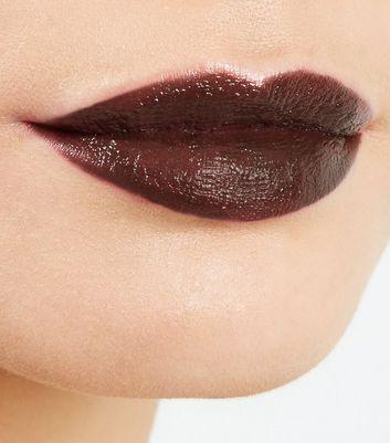 Dark Brown Moisturising Lipstick New Look