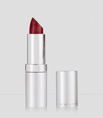 Crushed Red Velvet Moisturising Lipstick New Look