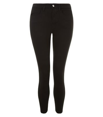 Petite Black Super Soft Super Skinny India Jeans New Look