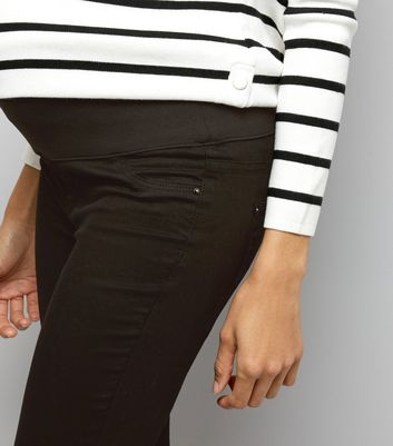 Maternity Black Under Bump Jeggings New Look