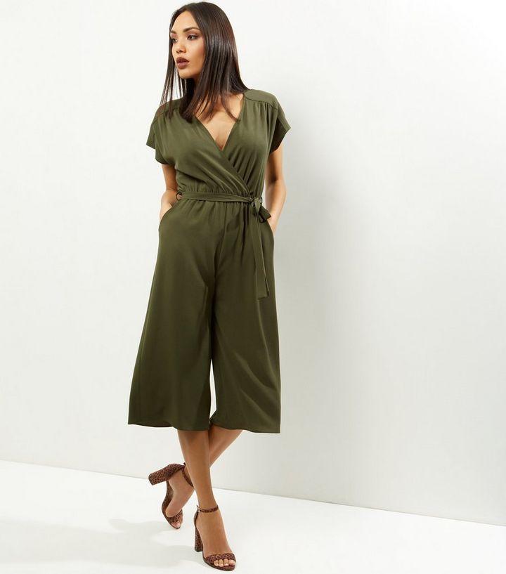 quality products wholesale online half price Combinaison jupe-culotte portefeuille kaki Ajouter à la Wishlist Supprimer  de la Wishlist
