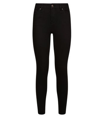 Black Super Soft Super Skinny India Jeans New Look