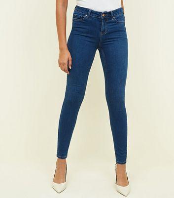 Blue Super Soft Super Skinny India Jeans New Look