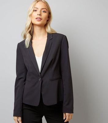 Black Suit Jacket New Look