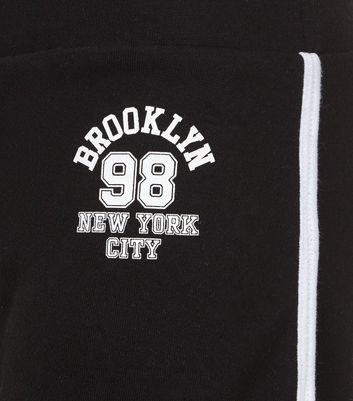 teens-black-brooklyn-98-print-shorts