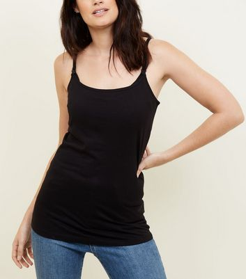 Maternity Black Nursing Cami