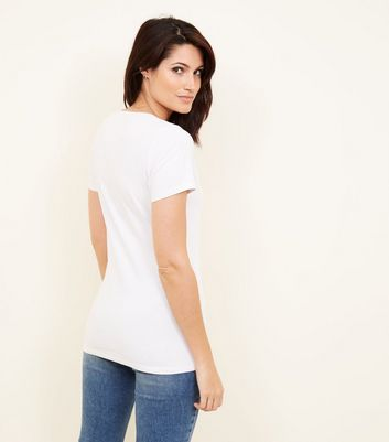 Maternity White Nursing T-shirt New Look
