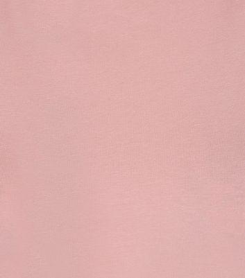 Teens Pink High Neck Cami New Look