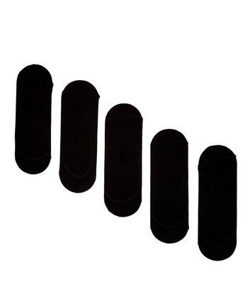 5 Pack Black Pop Socks New Look