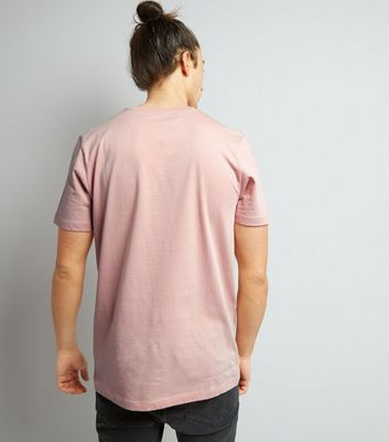 Pink Cotton Crew Neck T-Shirt New Look