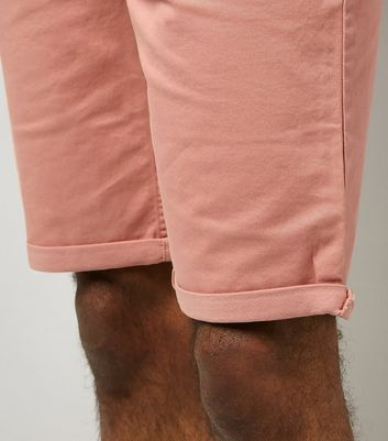 Pink 5 Pocket Slim Leg Shorts New Look