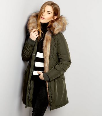 Amazon Fashion New Look Womens Parka Clothing