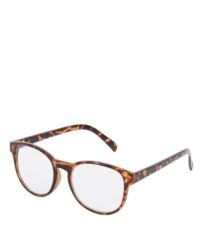 584e3378c83 Brown Faux Tortoiseshell Glasses