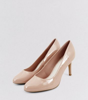 Nude Comfort Patent Court Shoes
