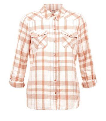 Noisy May Orange Long Sleeve Shirt New Look