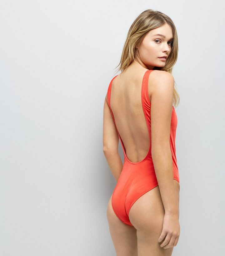 7c3d82ce96dda ... Red Bae Print Scoop Back Swimsuit. ×. ×. ×. Shop the look