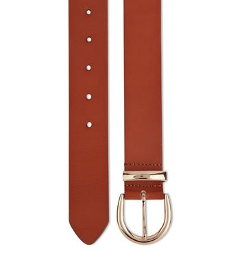 Tan Leather Belt New Look