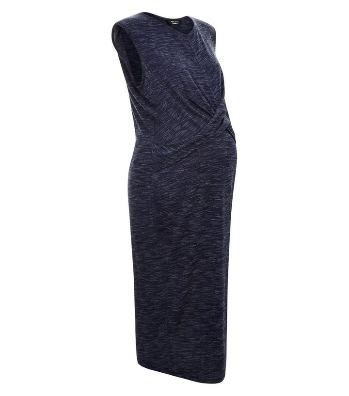 303b8fd57f ... Maternity Navy Cross Front Jersey Midi Dress. ×. ×. ×. Shop the look