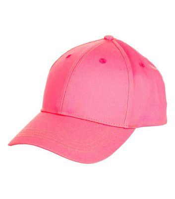 Pink Cotton Cap New Look