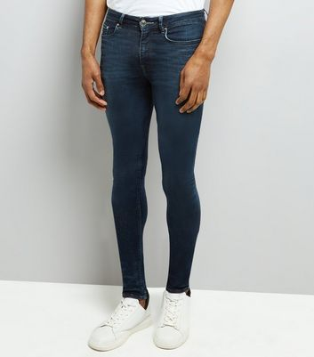 Blue Super Skinny Jeans New Look
