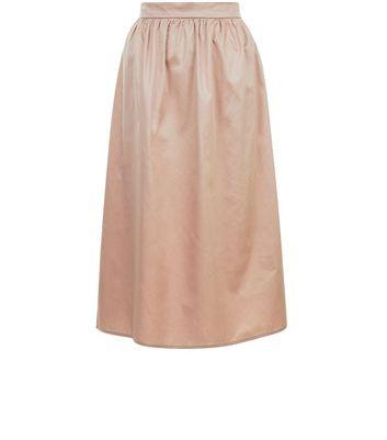 Pink Balloon Midi Skirt New Look
