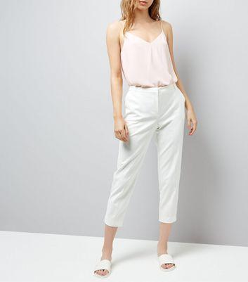 caa4ca983a88 Tailleur Pantalon Premium New De Look Blanc 7xxqgn4F