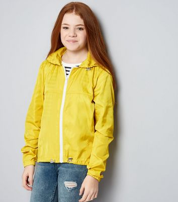 Teens Yellow Sports Jacket New Look