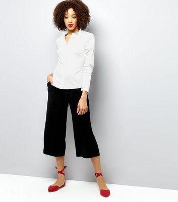 White Long Sleeve Shirt New Look