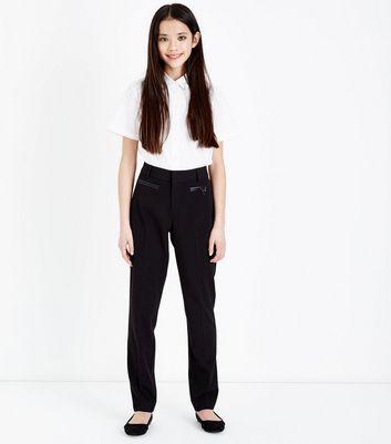 Teenager – Schwarze Hose in Lederoptik Für später speichern Von gespeicherten Artikeln entfernen