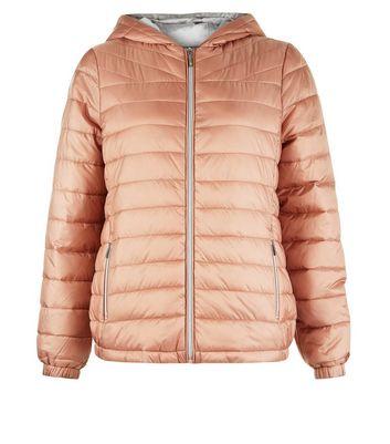 Pink Lightweight Puffer Jacket New Look
